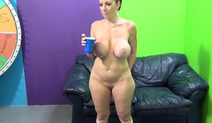 Large tit MILF Sara Jay has a marathon fuck with her tattooed hottie