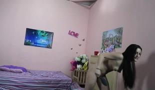 amatør virkelighet brunette webkamera striptease doggystyle