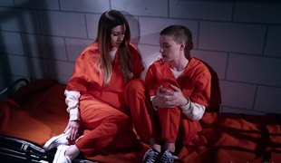 Prison inmates having a lesbian session that they'll never forget