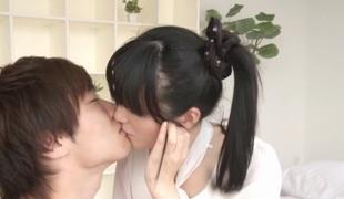 tenåring par japansk cunnilingus rett