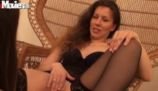 Whores Jana and Sarah fuck with their vibrator