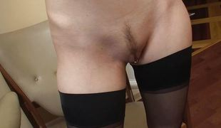 Ashley Jane getting exposed and showing her tits