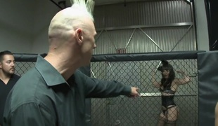 Dana acquires fucked after the MMA match