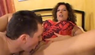 brunette milf blowjob cunnilingus piercing rett