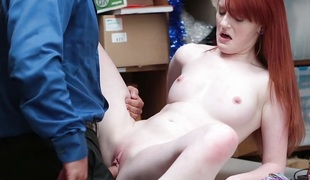 Red Headed Slut Offers Vagina