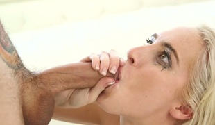 tenåring vakker blowjob sædsprut facial truser ass små pupper handjob hals
