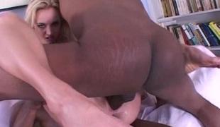 anal blonde dobbel penetrasjon pornostjerne blowjob interracial trekant