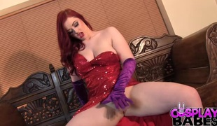 Forget who framed Rodger Rabbit, its all about who face fucked Jessica`! this gorgeous redhead gets a face full of schlong jointly with a big load all over her.