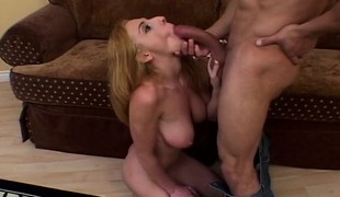 Stacked college slut is in heaven when a hard shaft explores her butt