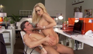 Toni Ribas receives enticed into fucking by Attractive breathtaker Devon with giant boobs and sticks his love torpedoin her bottom
