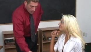 virkelighet blonde langt hår hardcore briller høyskole par