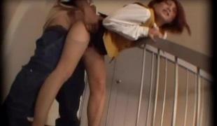 hardcore blowjob strømper sædsprut fitte trekant creampie asiatisk høye hæler doggystyle