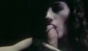 NOBODY KNOWS - vintage carnal oral-service erotic brunette