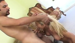 Perverted spouse gets a thrill without watching his wife getting pounded