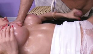 Eva Kareras vagina turnover rubdown at A