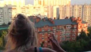 amatør russisk hjemmelaget puling