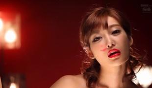 Incredible Japanese chick Kirara Asuka in Exotic cougar, rimming JAV clip