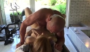 Sexy mature fucks young Emily Rose needs to relieve and goes