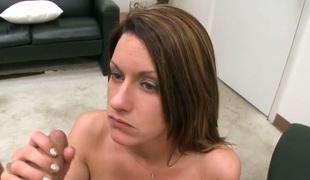 amatør brunette anal hardcore store pupper blowjob sædsprut facial ass handjob