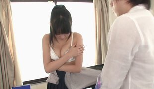 Yura Sakura is one time again ready for the vaginal penetration action