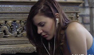Solo legal age teenager fingers her love tunnel