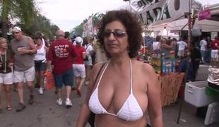 SpringBreakLife Video: Flashing At Daytime Street Party