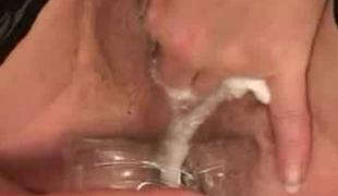 Creamy Cum Masturbation Drink