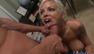 Breasty schoolgirl gets banged by her teacher