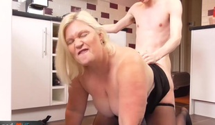 Agedlove fat mature gangbanged hard