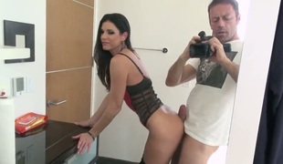 India Summer is in heaven eating Rocco Siffredis erect fuck stick