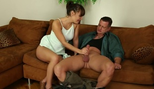 Eric Masterson has a good time banging pleasant Charlotte Crosss face hole
