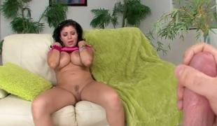 brunette anal kjønn stor rumpe hardcore milf pornostjerne blowjob ass fitte